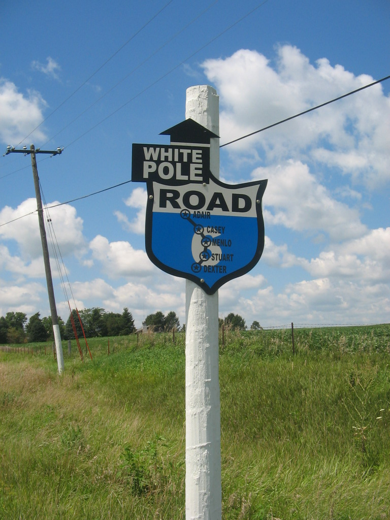 whitepole sign